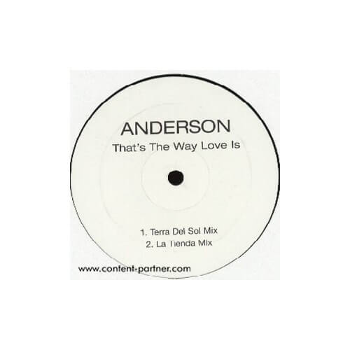 Anderson - Thats the way love is
